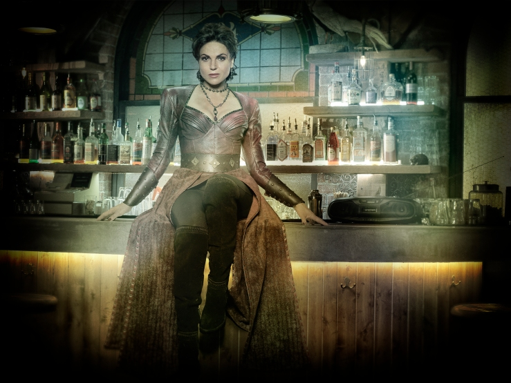 "ONCE UPON A TIME - ABC's ""Once Upon a Time"" stars Lana Parrilla as Evil Queen/Regina/Roni. (ABC/Craig Sjodin)"