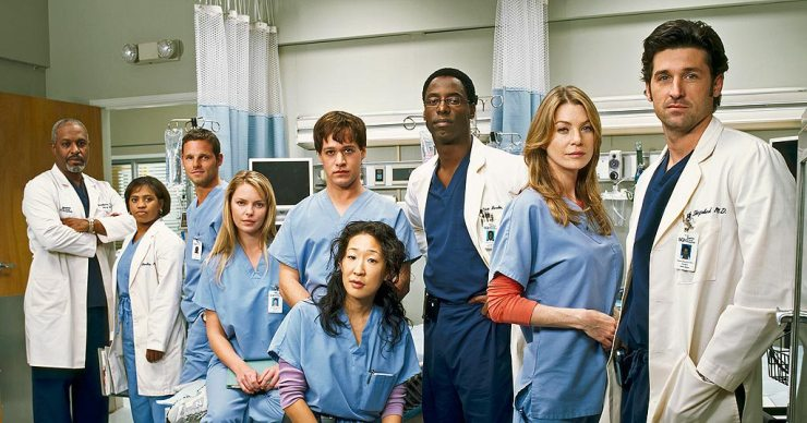 Greys Anatomy Season 1 Cast