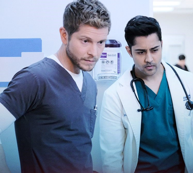 The Resident 8x17, Matt Czuchry and Manish Dayal