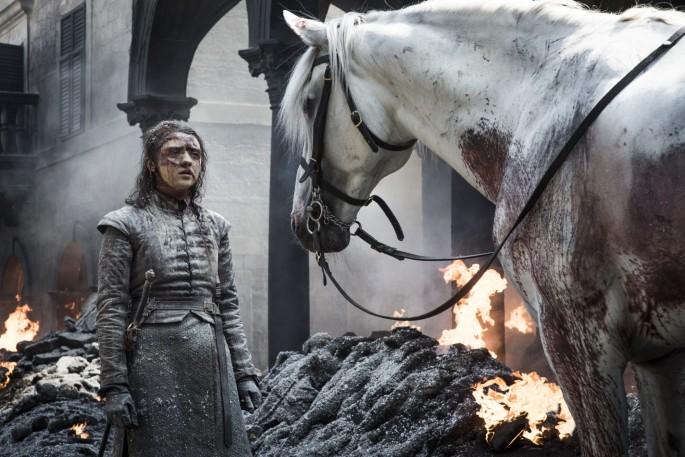 Game of Thrones Roundtable: Maisie Williams as Arya Stark