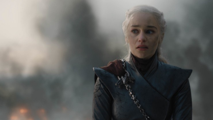 Game of Thrones Roundtable Emilia Clarke as Daenerys Targaryen