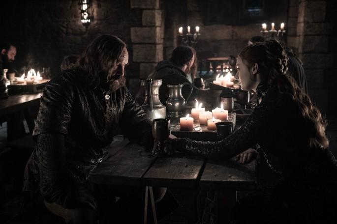 Game of Thrones Roundtable Sophie Turner as Sansa Stark