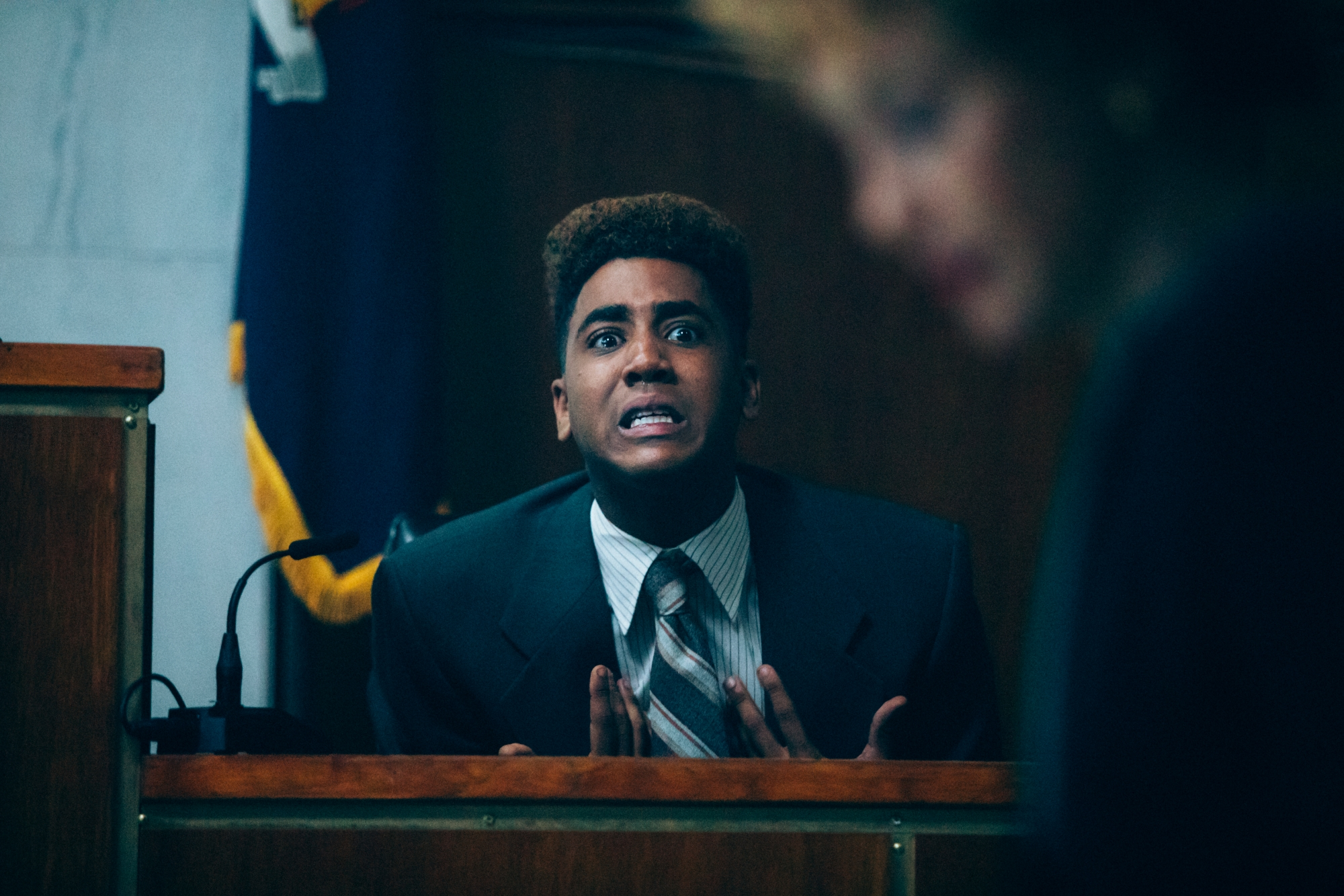 "When They See Us Linda Fairstein's Criminal ""Justice."" Pictured: Jharrel Jerome as Korey Wise, one of the Central Park Five"